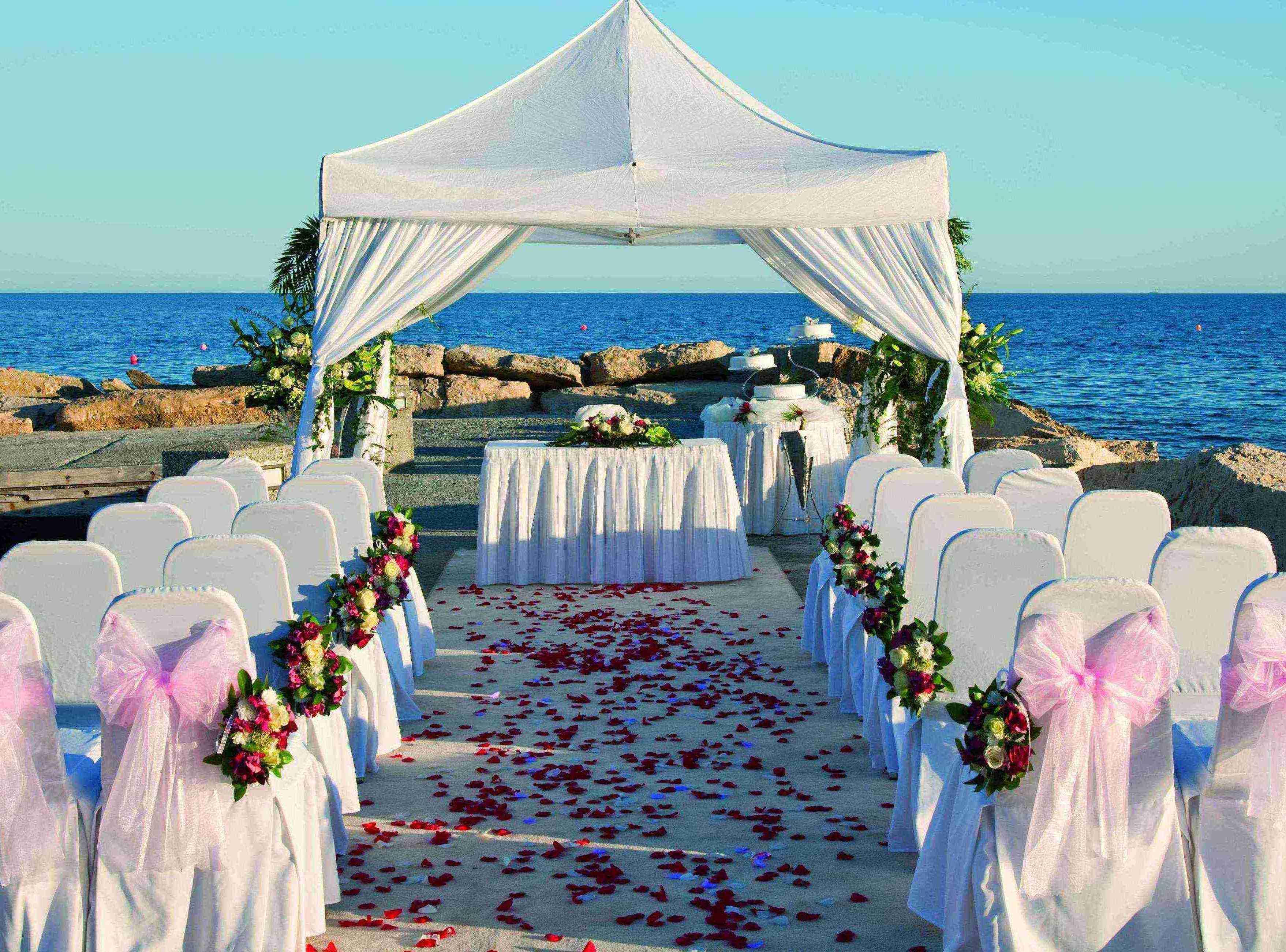 Свадьба на Кипре - арка